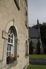 Windows (Paul McNamara) Tags: flowers glencreereconciliationcentre wicklow ireland windows grass lawn trees stkevinschurch