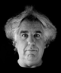 Self portrait (Phil*ippe) Tags: self portrait blackwhite black white noir blanc noiretblanc grey hair
