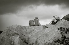 Through the sands of time..... (Kashish Bhatia) Tags: photoshop lightroom sepia monochrome bnw white black texture volcanic formations hampi deccan nature plateau landscape rocks
