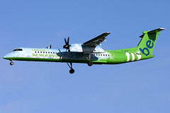 g-jedp dh8d egkk (Terry Wade Aviation Photography) Tags: dh8d egkk bee special