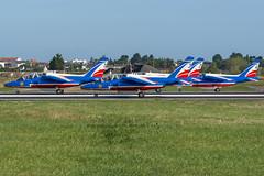 Patrouille de France / LFRZ 25 (_Wouter Cooremans) Tags: spotting spotter avgeek aviation airplanespotting saint nazaire snr lfrz patroille de france 25 patroilledefrance patrouille patrouilledefrance