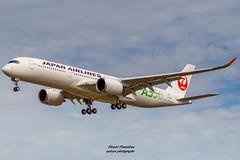 F-WZGE // JA03XJ Japan Airlines Airbus A350-941 MSN 343 (Florent Péraudeau) Tags: fwzge ja03xj japan airlines airbus a350941 msn 343