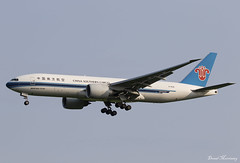 China Southern Cargo 777-F B-2026 (birrlad) Tags: china uk london airplane airport aircraft aviation airplanes cargo landing southern finals airline boeing arrival airways approach airlines runway freight stansted airliner freighter stn arriving b777 b2026 777f b77l 777f1b