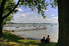 Together ... (Wojttek) Tags: lake miedwie summer zachodniopomorskie szczecin