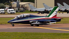 Italian Air Force Aermacchi MB 339 MM54517 (Thomas Saunders Photography) Tags: aviationphotography aviation military riat aircraft airplane canon 6d 100400 ef100400 7d italian air force italy aermacchi iaf