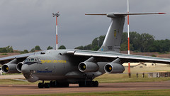 Ukraine Air Force Ilyushin IL76 76683 (Thomas Saunders Photography) Tags: aviationphotography aviation military riat aircraft airplane canon 6d 100400 ef100400 7d ilyushin il76 ukrane air force airforce united states usaf usa us kc10 extender