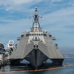 USS Charleston (SBGrad) Tags: nikon ship sandiego d750 nikkor usnavy warship sandiegobay 2019 alr 24mmf28d lcs18 usscharleston littoralcombatship indpendenceclass lcs