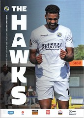 Havant & Waterlooville v Welling United (Havant & Waterlooville) Tags: national league south havant waterlooville welling united football programme