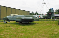 Gloster Meteor F.8 3W-32 Royal Netherlands Air Force (EI-DTG) Tags: ley lelystad 05jun2019 aircraftmuseum fighters meteor 3w32 gloster