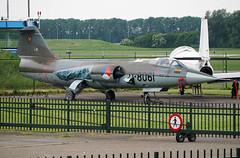 Lockheed F-104G D-8061 Royal Netherlands Air Force (EI-DTG) Tags: ley lelystad 05jun2019 aircraftmuseum fighters starfighter widowmaker d8061