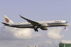 Air China A350-900 B-1080 at London Heathrow LHR/EGLL (dan89876) Tags: air china airbus a350 a350900 a350941 a359 b1080 london heathrow international airport landing runway 27l lhr egll