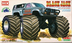 RN38 Toyota HiLUX Black Jack (celicacity) Tags: rn38 toyota hilux black jack ben hobby 3202 2 132 model kit