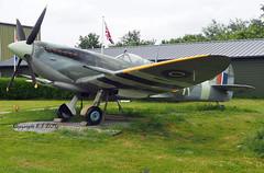Supermarine Spitfire (Replica) 3W-K (EI-DTG) Tags: ley lelystad 05jun2019 aircraftmuseum fighters 3wk spitfire supermarinespitfire taildragger