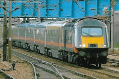 43423 1 091017 (stevenjeremy25) Tags: intercity 125 railway train speed high 43 253 hst 43423 43123 grand central doncaster buffer