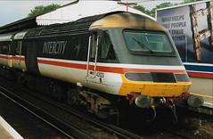 43123 2 140593 (stevenjeremy25) Tags: intercity 125 railway train speed high 43 253 hst 43123 buffer basingstoke