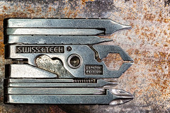 Mini-tool (docoverachiever) Tags: macro screwdriver eight closed swisstech manmade rust object home macromondays tool metal