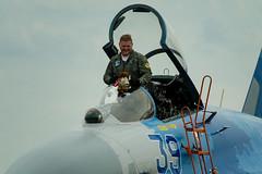DSC_2363 (Marcin M.) Tags: aerobaltic polska poland polen gdynia trójmiasto 3city jet fighter su27 army nikon nikkor 70300 airforce airshow suchoj air force