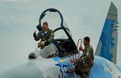 DSC_2358 (Marcin M.) Tags: aerobaltic polska poland polen gdynia trójmiasto 3city jet fighter su27 army nikon nikkor 70300 airforce airshow suchoj air force