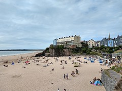 Photo of Tenby's Castle Beach