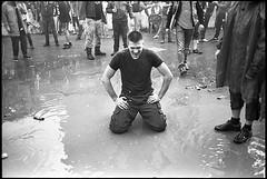 (Igor Baranchuk) Tags: rangefinder zeissikon 35mm analog film music live festival summer rain water metall voigtlander ilford ilfordpan wet cloud puddle pool
