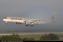 Qatar Airways A359 A7AMH (Sandsman83) Tags: airplane aircraft landing plane zurich lszh zrh qatar airbus a350 a7amh