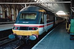 43123 1 130191 (stevenjeremy25) Tags: intercity 125 railway train speed high 43 253 hst 43123 buffer