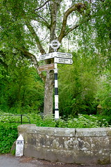 Experience the peace of the Dales (Adam Swaine) Tags: village villages villagenames villagesigns signposts signs rural nationalparks england english britain british uk ukcounties bridges northeast yorkshire northyorkshire ukvillages trees pennineway