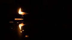 Candle (anlgngr7) Tags: canon eos 77d 18135mm is usm nano lens mum candle reflection yansıma drop drops fire light candlelight damlalar ışığı işık black glass siyah cam