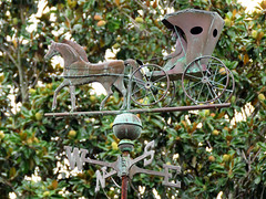 Magnolia Terrace Weather Vane (meeko_) Tags: weather vane weathervane hose carriage magnolia terrace bend magnoliaterrace magnoliabend disneys port orleans riverside portorleans portorleansriverside resort walt disney world waltdisneyworld florida