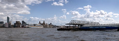 Seacombe Ferry Terminal, Wallasey (nickcoates74) Tags: panorama liverpool pier sony mersey ferryterminal wallasey merseyside merseyferries seacombe merseyferry a6300 55210mm sel55210 affinityphoto ilce6300 wirral cruise cruiseship aida kreuzfahrt aidabella