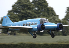 Anson (Graham Paul Spicer) Tags: avro anson trainer passenger airliner transport military civil vintage preserved classic aircraft plane aviation flying uk british shuttleworth collection oldwarden airfield airshow display