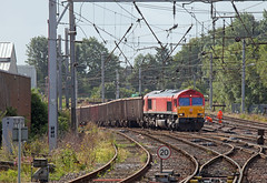 Knitting Needle (Richie B.) Tags: 6c97 db cargo carlisle cumbria emd general motors class 66 66018