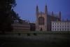 King's College this evening