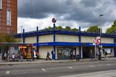 Colindale Station (London Less Travelled) Tags: uk unitedkingdom britain england london northlondon brent barnet city urban suburb suburban suburbia suburbs tube underground tfl transport rail station building colindale