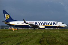 EI-EVF Ryanair 'Modlin Jest OK!' Boeing 737-8AS(WL) at Edinburgh Turnhouse Airport on 17 August 2019 (Zone 49 Photography) Tags: aircraft airliner aeroplane august 2019 edinburgh scotland egph edi turnhouse airport fr ryr ryanair boeing 737 738 800 8as wl eievf modlin jest ok