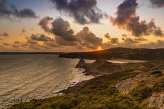 Three Cliffs, Gower (Richard-Morgan 147) Tags: gower sunset threecliffs wales