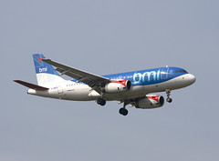A319 (Graham Paul Spicer) Tags: a319 airbus airliner passenger transport bmi lhr