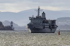 RFA Fort Rosalie, A385, IMO 7341283; Firth of Clyde, Scotland (Michael Leek Photography) Tags: ship vessel naval navalauxiliary warship britainsarmedforces britainsnavy rfa royalfleetauxiliary fortrosalie cloch clochlighthouse clyde hmnbclyde firthofclyde clydeanchorage faslane hmnb hmsneptune royalnavy rn jointwarrior nato natowarships natoexercise replenishmentship boat westcoastofscotland scotland scottishcoastline scottishlandscapes scotlandslandscapes scottishshipping inverclyde cowal kilcreggan rosneathpeninsula argyllandbute argyll michaelleek michaelleekphotography