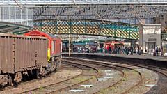 Shed Loads Of People (Richie B.) Tags: 6c97 db cargo carlisle cumbria emd general motors class 66 66018