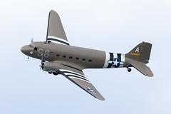 2100884/N147DC Douglas C-47A Dakota (amisbk196) Tags: uk kent flickr unitedkingdom aircraft aviation airshow amis 2019 bigginhill festivalofflight douglas dakota c47a n147dc 2100884