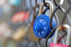 MM closed (luv_blu_ridge) Tags: closed macromondays macromonday macro canon locks masterlock masterlocks blue