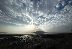 Lake Natron at sunrise - Tanzania (lotusblancphotography) Tags: africa afrique tanzania natron sunrise lake leverdesoleil lac sky ciel nuages clouds reflet