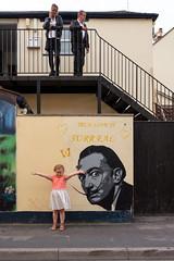 Princess Street - Burnham on Sea 2 (stevedexteruk) Tags: johndo street art burnhamonsea burnham mural salvador dali 2019 somerset victoria hotel pub
