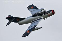 2066 MiG 15 (photozone72) Tags: mig mig15 northweald classicjet jet aviation aircraft canon canon7dmk2 7dmk2 canon100400f4556lii