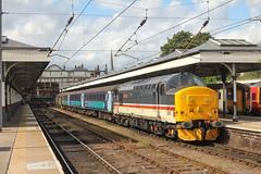 37419 at Norwich 2J80 1458 Norwich - Lowestoft 17/08/19. (chrisrowe37419) Tags: