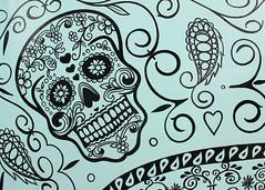 Skull art (cloolis101) Tags: 119picturesin2019 ink skull art