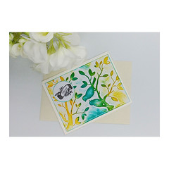 Thankscard with birds, thanks for the wedding (Mimicartes) Tags: card greeting thanks sweet thank you amazing friend for husband birth cowoker teacher design bestie friendship