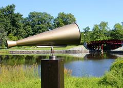 Art in the park (cloolis101) Tags: 119picturesin2019 horn elmpark artinthepark redbridge