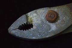 Pliers Macro (Bernie Emmons) Tags: macro pliers grip rusty