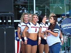IMG_7449 (grooverman) Tags: houston texans nfl football game nrg stadium texas 2019 cheerleaders nice sexy legs stomach canon powershot sx530